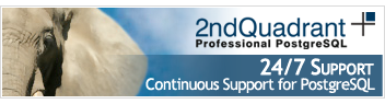 24/7 Support by 2ndQuadrant
